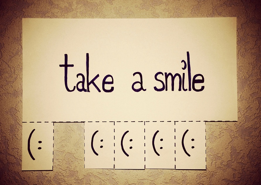 Smiles are contagious so share one today.Photo via Pumpkin Soup