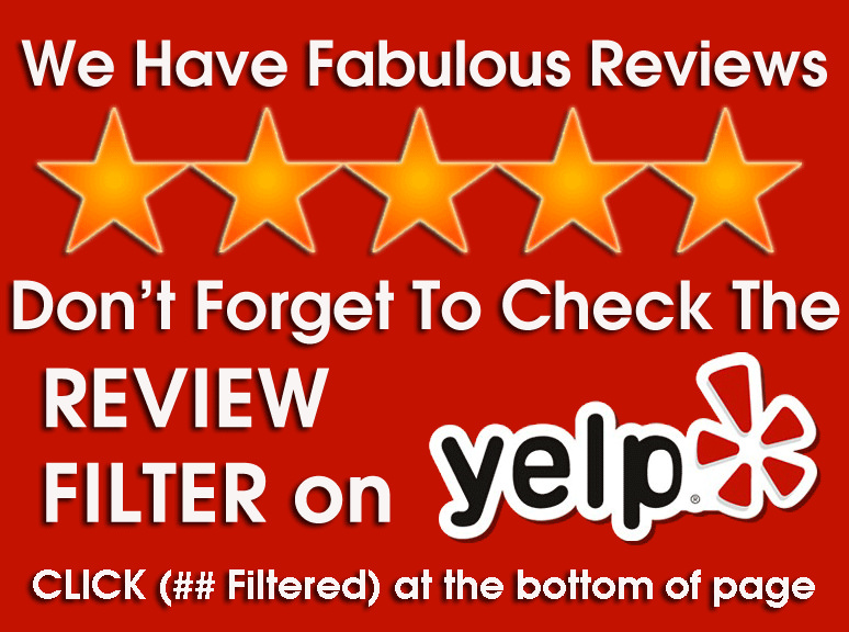 Yelp filtered review