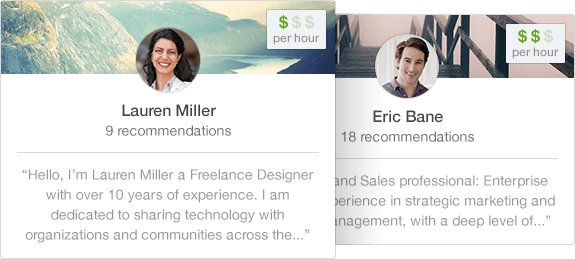 Linkedin Profinder freelancer