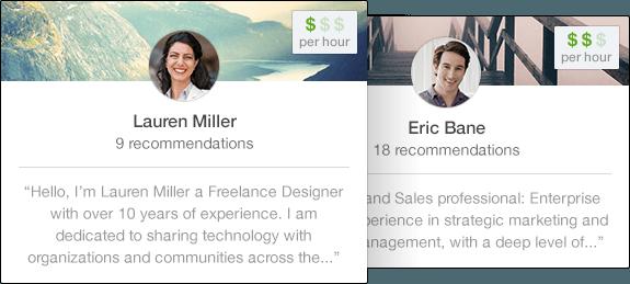Linkedin Profinder freelancer